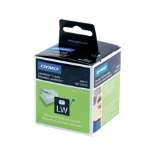 DYMO LW Standard Address labels - Low-Entry Volume, 28x89mm, 1x130