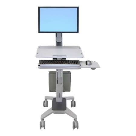 Ergotron WorkFit-C Computer Stand - Up to 68.6 cm (27)