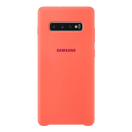Silicone Cover for Galaxy S10 Plus Pink