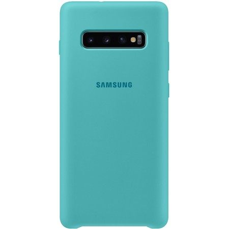 Silicone Cover for Galaxy S10 Plus Green