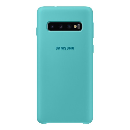 Silicone Cover for Galaxy S10 Green