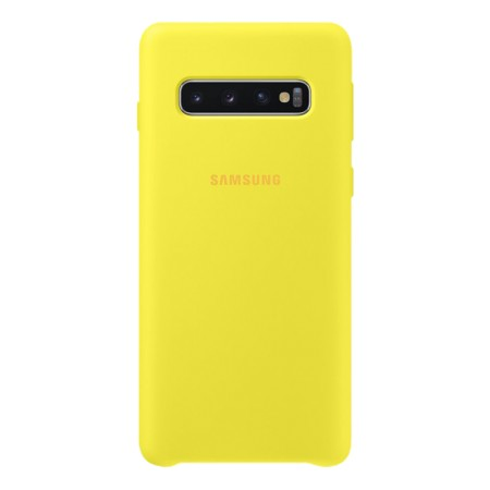 Silicone Cover for Galaxy S10 Yellow