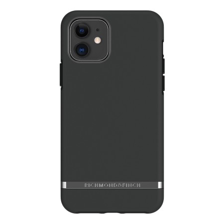 Richmond & Finch Black Out, iPhone 11, black details