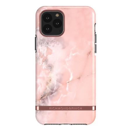 Richmond & Finch Pink Marble, iPhone 11 Pro Max, rose gold details