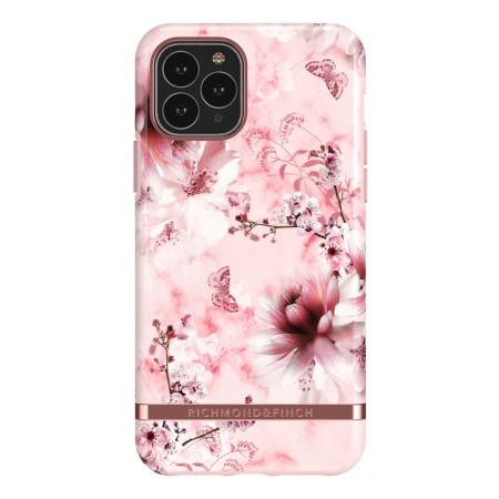 Richmond & Finch Pink Marble Floral suojakuori iPhone 11 Pro Maxille