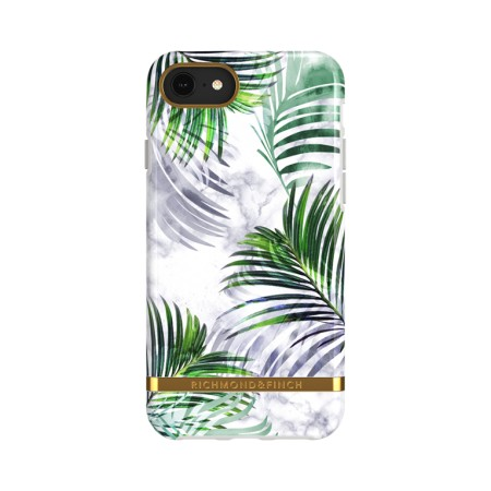 Richmond & Finch White Marble Tropics suojakuori iPhone 6/6s/7/8