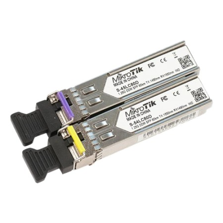 Mikrotik Pair of SFP 1.25G 10Km T1310nm-R1550 nm and vice versa