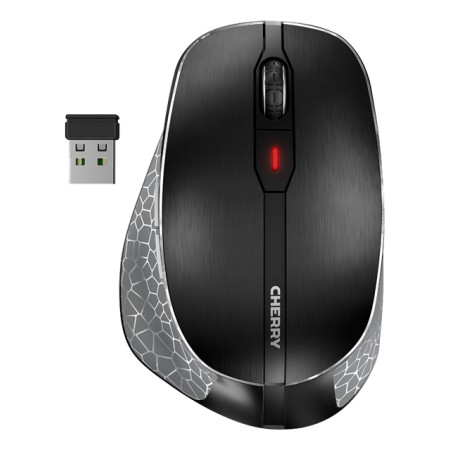 CHERRY MW 8 ergonomic mouse, rechargeable battery, BT + RF connection