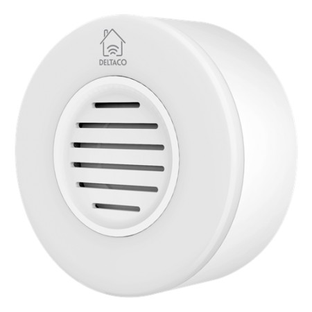DELTACO SMART HOME WiFi siren, white