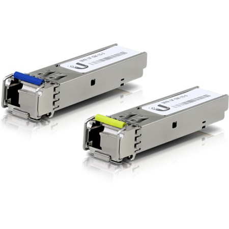 U Fiber, Single-Mode Module SFP, 10G, BiDi, 2 pack