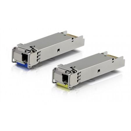 U Fiber, Single-Mode Module, 1G, BiDi, 2-Pack