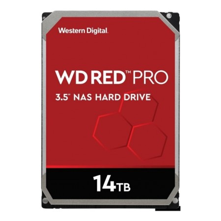 WD Red Pro 14TB HDD 3,5 7200rpm