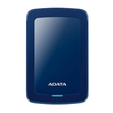 ADATA 1TB External Hard drive, 10,3mm, USB 3.1, Quick start, blue