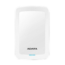 ADATA 4TB External Hard drive, 19mm, USB 3.1, Quick start, white