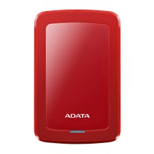 ADATA 4TB External Hard drive, 19mm, USB 3.1, Quick start, red