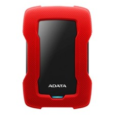 ADATA 4TB External hard drive, USB 3.1, HDDtoGo, red