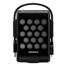 ADATA 2TB External hard drive, USB 3.1, water/dust/shockproof, black