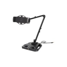 """Smartphone and tablet stand with suction cup, 4""""-12"""", USB extension, 3"""