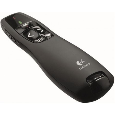 Logitech Presenter R400, Wireless, 2.4GHz, Black