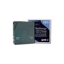 IBM LTO Ultrium Tape Cartridge, 400GB, 80MBps, 128MB Buffer, black