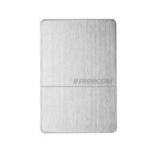 Freecom Mobile 1TB External Hard Drive, 5 Gbps, USB 3.0, silver
