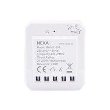 NEXA MWMR-251 Dose dimmer, adjustable lowest dimmer level, smart mode,