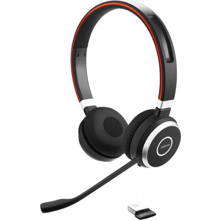JABRA EVOLVE 65 MS Stereo - Bluetooth-kuulokkeet, MS Lync, NFC, USB
