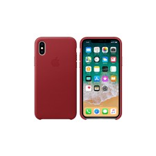 Apple nahkakuori iPhone X:lle, (PRODUCT)RED