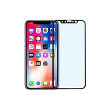 Pavoscreen 3D anti blue light glass for iPhone X, 9H hardness, black
