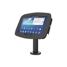 """Space Rise - Galaxy Tab A 10.1"""" Counter Top Kiosk 8"""" - Black"""