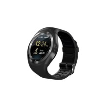 TrendGeek Smartwatch, mobile phone, fitness tracker, microSD, black