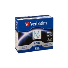 Verbatim BD-R M-disc Single Layer 4X Scratchguard surface