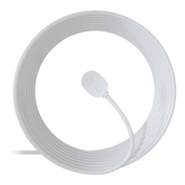 Arlo outdoor cable with magnetic charge