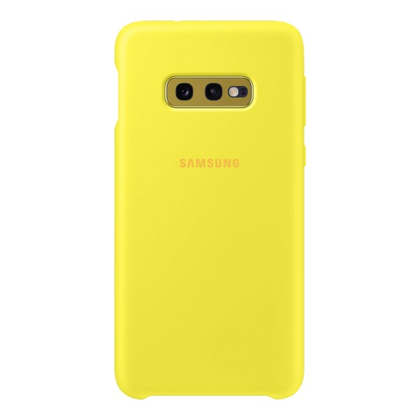 Silicone Cover for Galaxy S10e Yellow