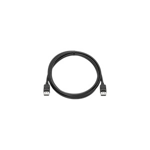 HP DisplayPort monitorikaapeli, 20-pin uros-uros, 2m, musta