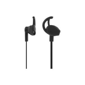 STREETZ kuulokemikrofoni, stay-in-ear, 3,5mm, 1,2m kaapeli, musta