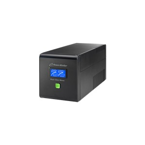 PowerWalker PWALK-0040 UPS, 4xSchuko, 1000 VA, 0.64 OF, black